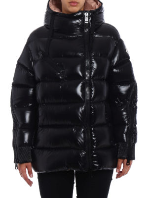 Moncler: padded jackets online - Liriope hooded down jacket