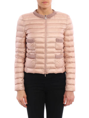Moncler: padded jackets online - Palmier padded crop jacket