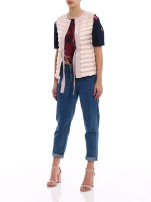 Moncler: padded jackets online - Peridot padded sleeveless jacket