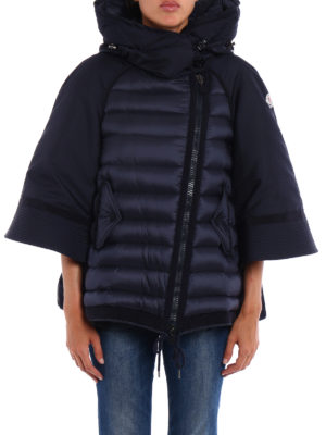 Moncler: padded jackets online - Sophie padded cape