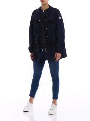 Moncler: padded jackets online - Tourmaline padded jacket