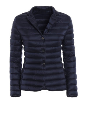 Moncler: padded jackets - Opale blue puffer jacket