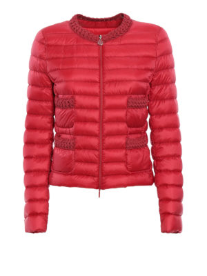 Moncler: padded jackets - Palmier padded crop jacket