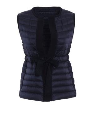 Moncler: padded jackets - Peridot sleeveless puffer jacket