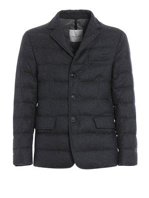 Moncler: padded jackets - Rodin padded jacket