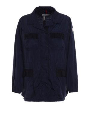 Moncler: padded jackets - Tourmaline padded jacket