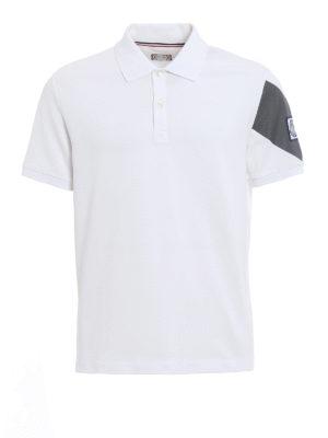 Moncler: polo shirts - Cotton pique polo shirt