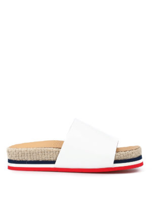 Moncler: sandals - Evelyne slipper sandals