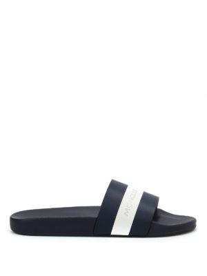Moncler: sandals - Ivane slide sandals