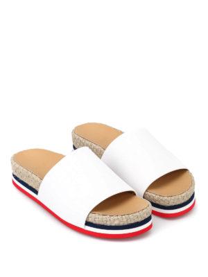 Moncler: sandals online - Evelyne slipper sandals