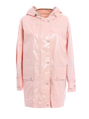 Moncler: short coats - Navet raincoat