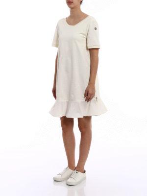 Moncler: short dresses online - Expandable cotton dress