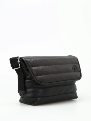 Moncler: shoulder bags online - Kino MM calfskin messenger bag