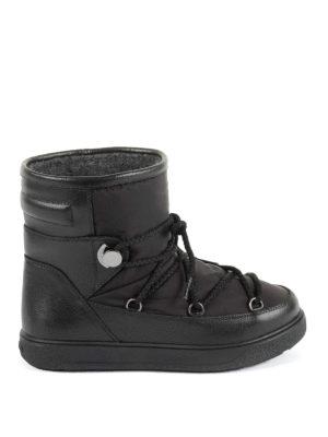 Moncler: snow boots - New Fanny black après-ski boots