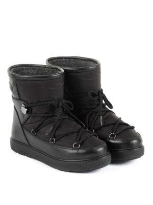 Moncler: snow boots online - New Fanny black après-ski boots