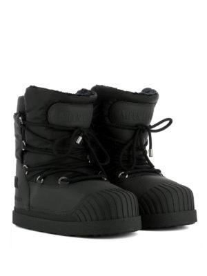 Moncler: snow boots online - Uranus black snow boots