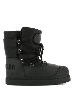 Moncler: snow boots - Uranus black snow boots