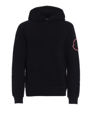 Moncler: Sweatshirts & Sweaters - Moncler Twist collection hoodie