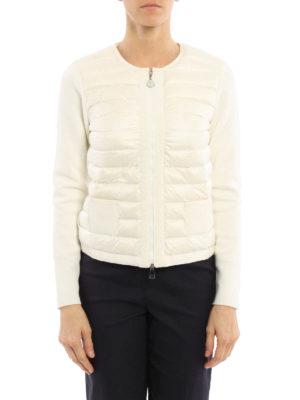 Moncler: Sweatshirts & Sweaters online - Front padded panel sweatshirt