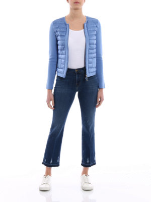Moncler: Sweatshirts & Sweaters online - Front padded panelled sweatshirt