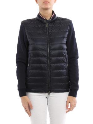 Moncler: Sweatshirts & Sweaters online - Front padded zipped sweatshirt