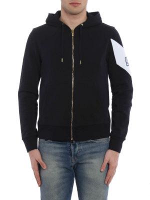 Moncler: Sweatshirts & Sweaters online - Gamme Bleu zipped sweatshirt