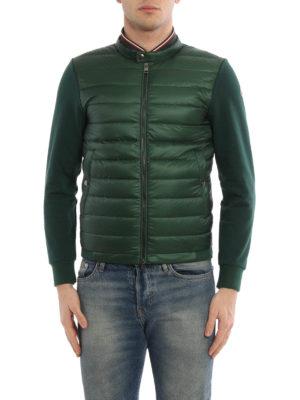 Moncler: Sweatshirts & Sweaters online - Padded panelled sweatshirt
