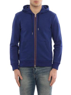 Moncler: Sweatshirts & Sweaters online - Zip cotton hoodie