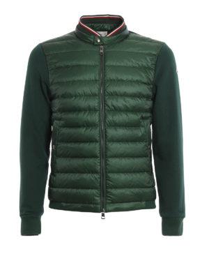 Moncler: Sweatshirts & Sweaters - Padded panelled sweatshirt