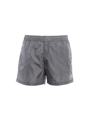 Moncler: Swim shorts & swimming trunks - Grey swim shorts