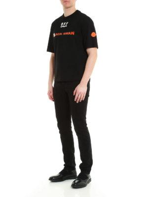 Moncler: t-shirts online - Back maxi print T-shirt