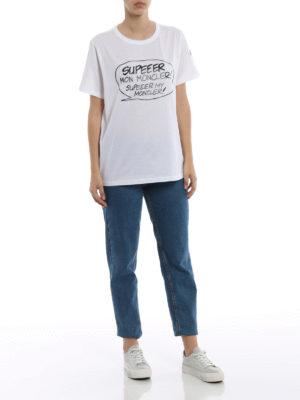 Moncler: t-shirts online - Supeeer Mon Moncler T-shirt