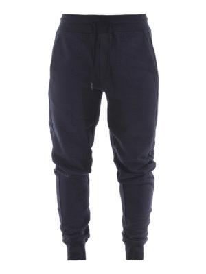 Moncler: tracksuit bottoms - Cotton fleece track pants