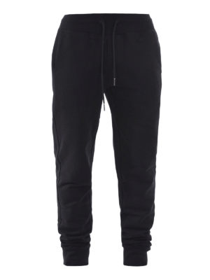 Moncler: tracksuit bottoms - Cotton jogging trousers