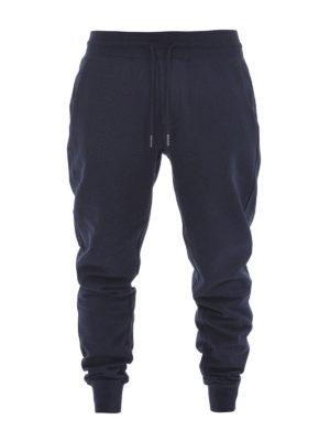 Moncler: tracksuit bottoms - Cotton tracksuit bottoms