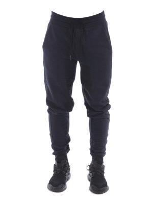 Moncler: tracksuit bottoms online - Cotton fleece track pants