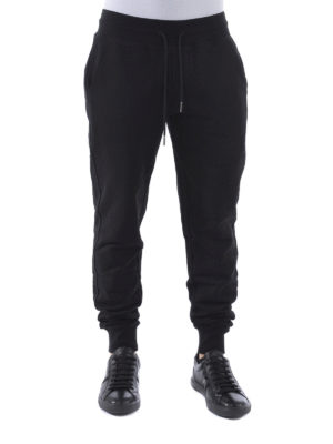 Moncler: tracksuit bottoms online - Cotton jogging trousers