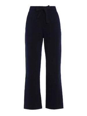 Moncler: tracksuit bottoms - Side vents cotton tracksuit bottoms