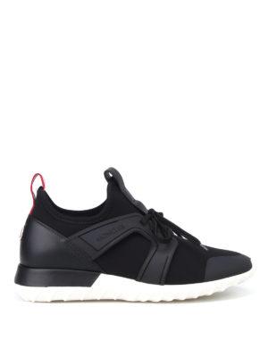 Moncler: trainers - Emilien black sneakers