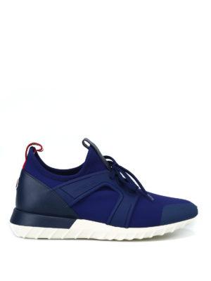 MONCLER: sneakers - Sneaker Emilien blu