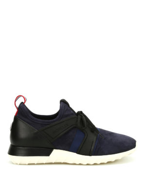 Moncler: trainers - Emilien suede sneakers