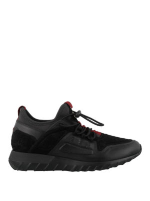 MONCLER: sneakers - Sneaker Garry nere