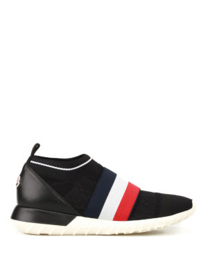 Moncler: trainers - Giroflee fabric sneakers