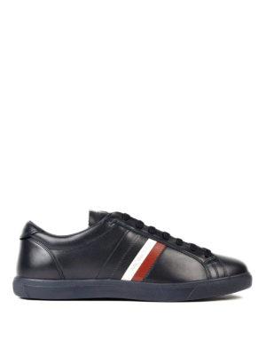 Moncler: trainers - La Monaco leather sneakers