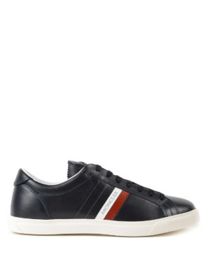 MONCLER: sneakers - Sneaker blu scuro La Monaco