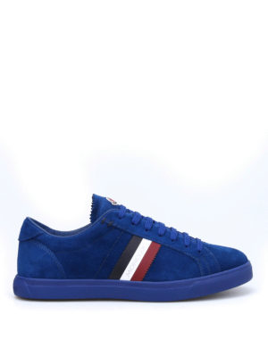 Moncler: trainers - La Monaco suede sneakers