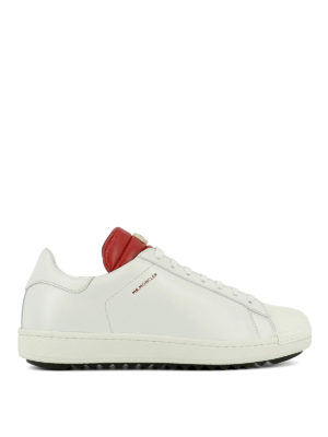 Moncler: trainers - Leather sneakers