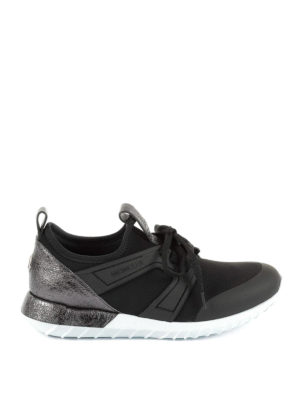 Moncler: trainers - Meline neoprene slip on sneakers