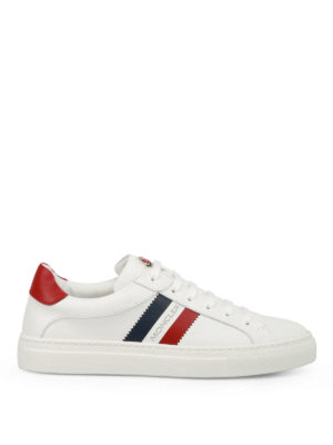 Moncler: trainers - New Leni leather sneakers