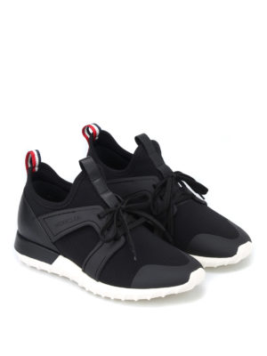 Moncler: trainers online - Emilien black sneakers